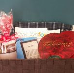 I Love to Read/Valentine's Day Basket